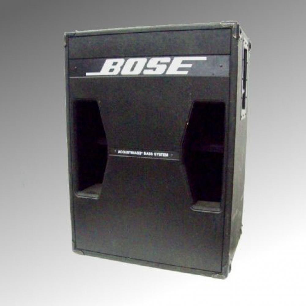 bose pa. bose 302 ii tandem tuned bass system pa