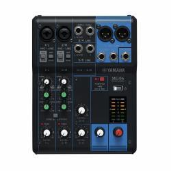 Yamaha MG06 6-channel mixer
