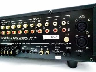 McIntosh C40 Audio Control Center