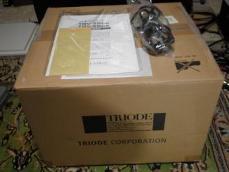 TRIODE TRV-35SE INTERGRATED TUBE AMPLIFIER