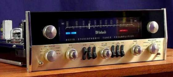 MCINTOSH MX110 TUBE PRE AMPLIFIER